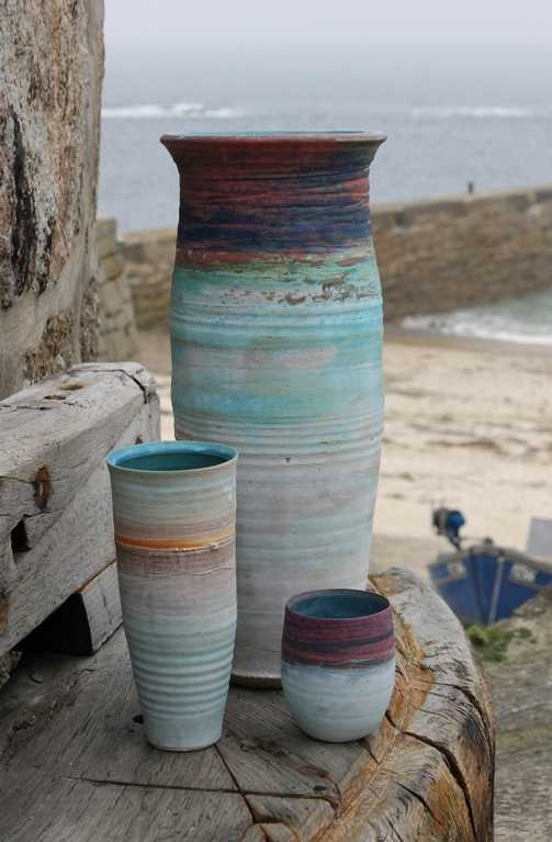 More images - Colin Caffell pottery